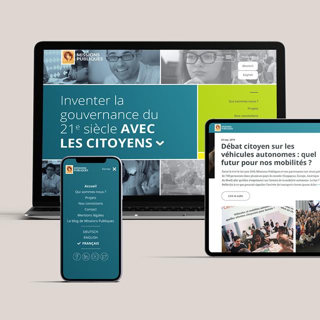 Missions Publiques-Site web